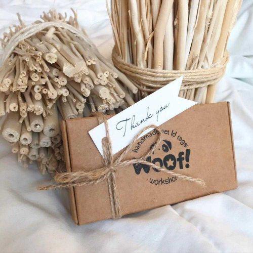 Фирменная упаковка WOOF Workshop