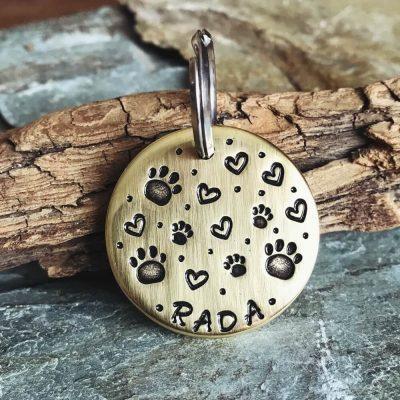 Адресник для собаки РАДА