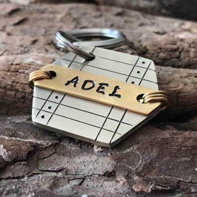 Адресник для собаки ADEL-001