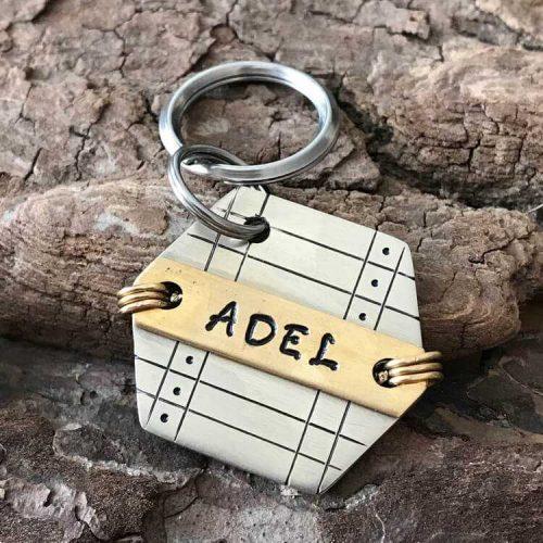 Адресник для собаки ADEL-002