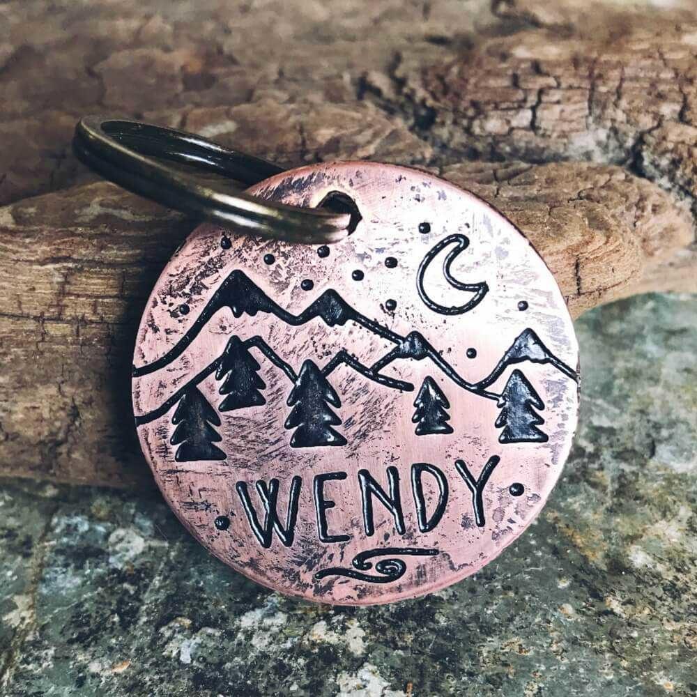 Медальоны WENDY для собак на ошейник-1