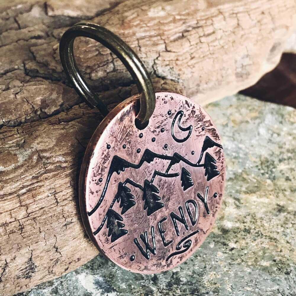 Медальоны WENDY для собак на ошейник