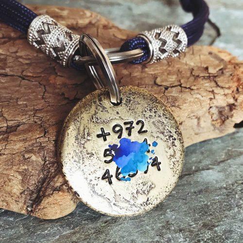 Заказать медальон для собаки IVAN с именем и телефоном-2