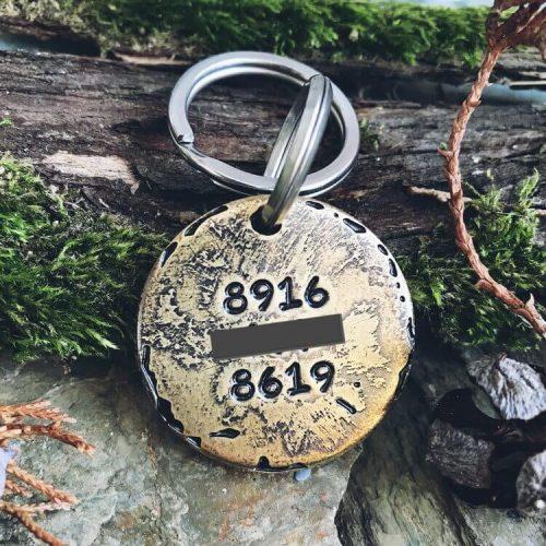 Медальон для собаки СКАЙ с смешной гравировкой заказать-1