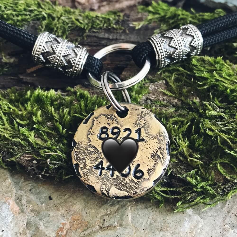 Адресник медальон для собаки ШАЙ-1