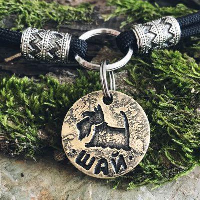 Адресник медальон для собаки ШАЙ