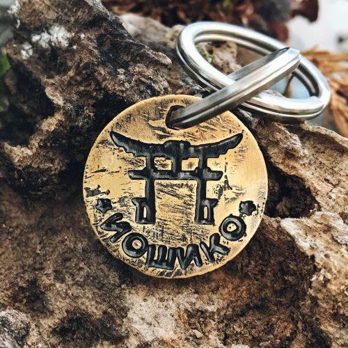 Медальон ИОШИКО с изображением Тории для Сибы